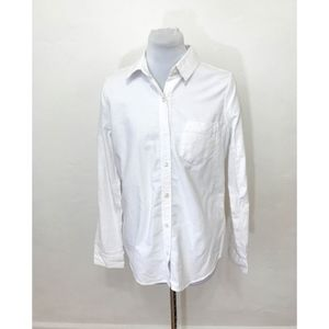 So Perfect Oxford White Shirt - Size Medium